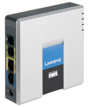 Linksys Cisco FXO SIP gateway